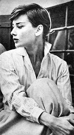 Audrey Hepburn Pixie Hair More