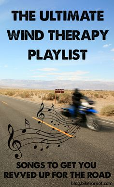 We believe happiness is… a motorcycle, a full tank of gas, the open road, and a rockin' road trip mix. Listen to our favorite wind therapy tunes here: http://blog.bikerornot.com/the-ultimate-wind-therapy-playlist/