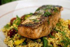 Ukemeny for uke 11 (Fru Timian) A Food, Couscous, Grains, Pork, Turkey, Rice, Chicken, Meat, Kale Stir Fry