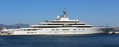 Superyacht M/Y Eclipse berthed at the North Mole, Port of Gibraltar | by Mosh70