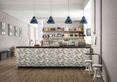 Chalk - Concrete Look Wall Tiles Interior Exterior, Interior Architecture, Wall Tiles, Neutral Colors, Contemporary Style, Master Bathroom, Brick, Pastel, House Design