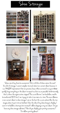#Shoe #Storage Solutions on the #blog today!
