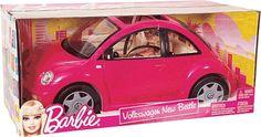 Barbie's Volkswagen New Beetle