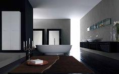 Tall suspended bathroom cabinet ZERO | Tall bathroom cabinet - RIFRA