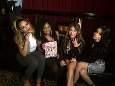 Dinah, Normani, Ally and Camila