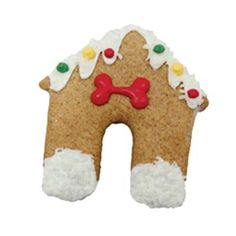 $3.50 All dogs need a yummy peanut butter holiday house! Bosco And Roxys Dog House