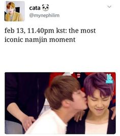 NAMJIIIIIINNNN FEEELLZZZ<<<me and my friend were freaking out also I have a gif on my board of anyone's interested