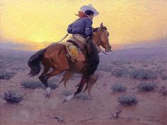 Joining the Herd, William Robinson Leigh