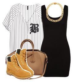 """""""."""" by trillest-queen ❤ liked on Polyvore featuring moda, H&M, Zalando, Kenneth Cole, Givenchy e Timberland"""