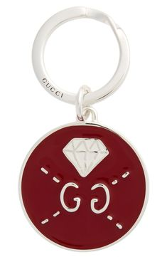8d8a5f18ede Free shipping and returns on Gucci Ghost Diamond Key Ring at Nordstrom.com.  Mind