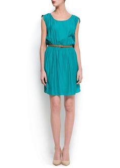 PLEATED DRESS WITH BELT$59.99 sizes 2-10