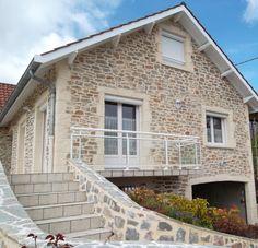 L'enduit mural décoratif Decopierre® à la chaux naturelle recrée la pierre et donne du charme à votre maison !