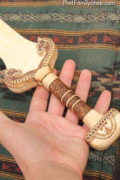 Éowyn's Sword Lord of the Rings Wooden Replica by FunnyFarmToyBarn, $74.00