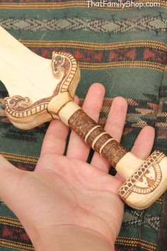 Éowyn's Sword Lord of the Rings Wooden Replica by FunnyFarmToyBarn
