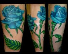 Blue rose tattoos are a popular choice for rose tattoo designs. Blue rose tattoo designs can be designed in many different ways. The blue rose tattoo is the second most popular choice for rose tattoos, second to only red rose tattoos. Blue rose...