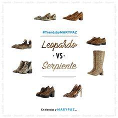 ¿¿ Qué os parece el #TrendsbyMARYPAZ de hoy ?? Este versus va dela tendencia ANIMAL PRINT con LEOPARDO vs SERPIENTE ¡¡ Enséñanos cómo los combinas!! Hazte con el estampado LEOPARDO ►https://goo.gl/fWh8uX ►https://goo.gl/8bVsYt ►https://goo.gl/cDhlfo ►https://goo.gl/JAIKjX Hazte con el estampado SERPIENTE ►https://goo.gl/pEiQAi ►https://goo.gl/dRf2DF ►https://goo.gl/cFpHfg ►https://goo.gl/L2j4xF #SoyYoSoyMARYPAZ #Follow #winter #love #otoño #fashion #colour #tendencias #marypaz #locaporlamoda