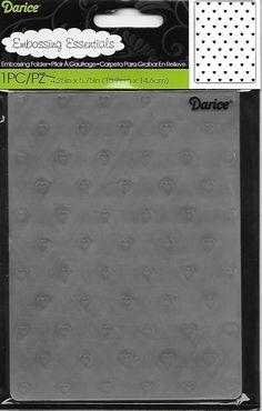 Darice Embossing Folder    New    Mini by CynthiasCraftingNook