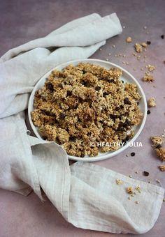 COOKING JULIA : GRANOLA AU SARRASIN ET CHOCOLAT