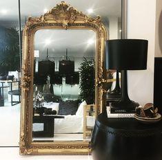 Antique French Salon / Mantle Mirror
