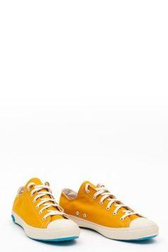 purchase cheap 62691 25e1a Shoes Like Pottery - Low Top Mustard Yellow Mustard Yellow