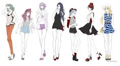 kuroko no basket Gender Bender , ;w; omg...I like them whit this style , Aomine look's sexy X'D...i hate this word but what ever....wtf...