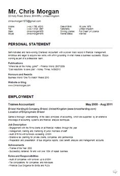 top 10 cv resume example - Top 10 Resume Examples