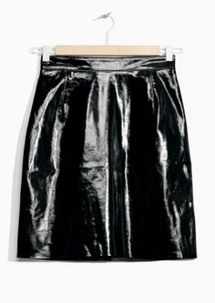 & Other Stories | Patent Leather Skirt