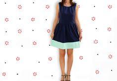 La Thai qui Riz: Mint dipped Dress {Menthe a l'eau}