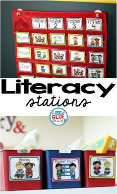 THE Literacy Station