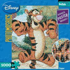 Buffalo Games Disney Photomosaic Tigger -- Continue to the product at the image link.