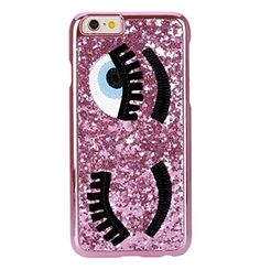 iPhone7 Case,iPhone7 Bling Eyes Shell,Blixy Cute Fashion Inwrought Twinkling Big Eyes Long Eyewinker Luxury Bling Glitter Cover Electroplating Case For iPhone7(Rose) -- Awesome products selected by Anna Churchill