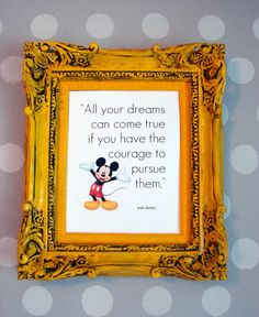 Disney printables -- Print and frame your favorite quotes!