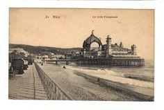CPA ANIMEE - NICE (06) - LA JETEE PROMENADE -  1907