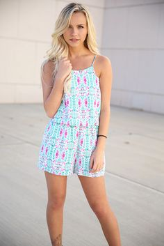 8b0ef739b847 We Found Love Romper (Jade) | Love June Boutique We Found Love, Southern