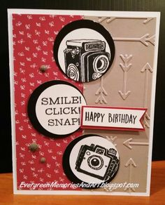 Evergreen Memories: Life in Pictures: Stamp of the month Blog Hop