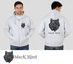 Bluza blacK Mind Wolf
