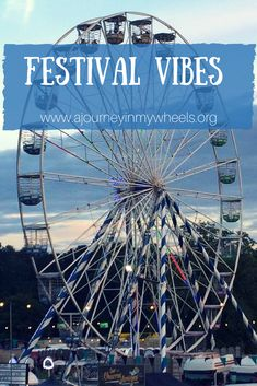 Accessible views on going to Carnival 56 music festival in the summer.
