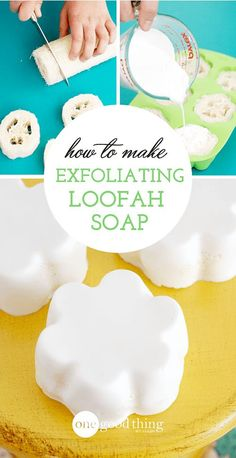 I just love when I discover a new health and/or beauty product that I can make at home for less money and that works better than the store-bought stuff! I've made a LOT of them already, but this loofa