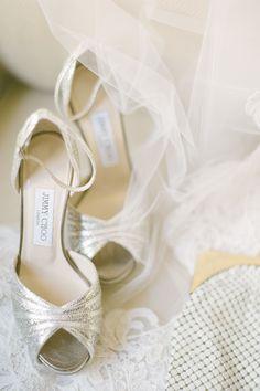 e22b2a0f2c NYC Wedding at Chelsea Piers - Elizabeth Anne Designs: The Wedding Blog.  Nude HeelsGrey HeelsBridal ...