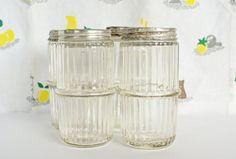 Vintage Hoosier Kitchen Spice Jars  Kitchen by Vintassentials