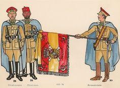 Los Regulares. Uniformes de 1939-54