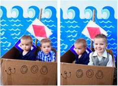 Nautical Birthday Decorations Photo Booth / 6th Street Design School