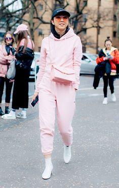 26 Street Style–Approved Ways to Wear Pink via @WhoWhatWearUK