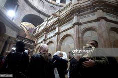 People visit The tomb of Jesus Christ with the rotunda is seen in the Church of the Holy Sepulchre on March 21 2017 in Jerusalem Israel The tomb of... Jesus Tomb, Jesus Christ, Stock Pictures, Stock Photos, Jerusalem Israel, Royalty Free Photos, Louvre, Explore, Travel