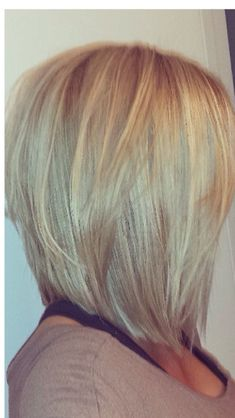 long angled bob with lots of layers haircuts pinterest long layered angled bob hairstyles 640x1136