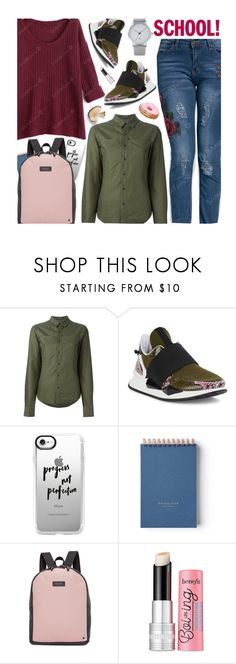 """Go Back-to-School Shopping!"" by beebeely-look ❤ liked on Polyvore featuring A.F. Vandevorst, Givenchy, Casetify, State, Benefit, BackToSchool, casual, sammydress, backpacks and back2school"