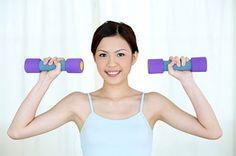 Tập tạ giúp cơ thể đẹp còn rất tốt cho việc tăng cân