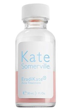 Free shipping and returns on Kate Somerville 'EradiKate' Acne Treatment at Nordstrom.com. There's nothing more frustrating than looking in the mirror and seeing a blemish or pimple appear! EradiKate Acne Treatment is specifically formulated to effectively heal blemishes and prevent future breakouts, quickly. This exclusive formula contains the highest level of sulfur allowed in order to calm acne flare ups and keep skin free of further bacteria buildup. EradiKate Acne Treatment is most ...
