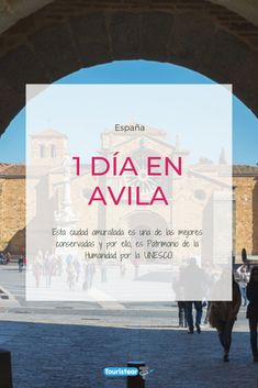 Qué ver en 1 día en Avila, la ciudad de la muralla, Patrimonio de la Humanidad y con unas tapas impresionantes. Te lo vas a perder? Haz clic y comienza a viajar!!!  #Avila #España #Unesco Valencia, Cities, Life Is Good, Paradise, Spain, Travel, Seville, Places To Visit, Family Travel