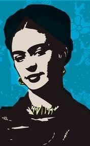 Tattoo Diego Rivera, Freida Kahlo, Frida Kahlo Portraits, Kahlo Paintings, Star Illustration, Stencil Painting, Stenciling, Ap Art, Silhouette Art